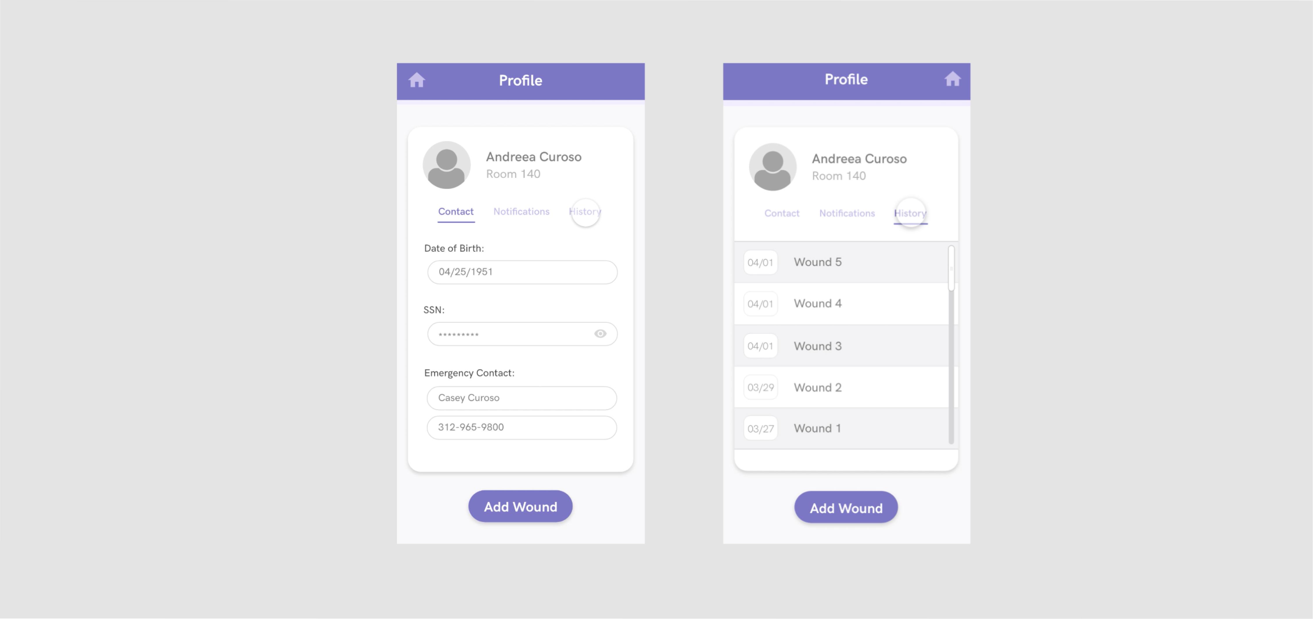 Profile – Version 1